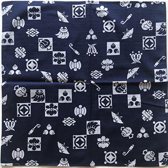 Pañuelo tradicional japonés Furoshiki Tesoro Azul