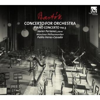 Béla Bartók. Concerto for orchestra. Piano concerto nº 3