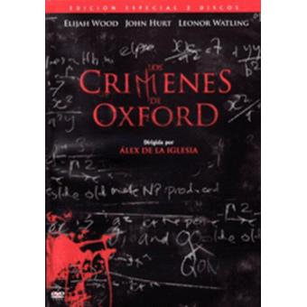 Los crímenes de Oxford Ed Especial - DVD