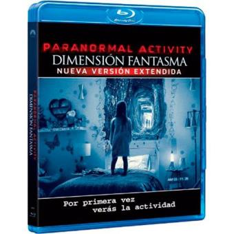 Paranormal Activity. Dimensión fantasma - Blu-Ray