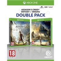 Assassin's Creed Odyssey + Assassin's Creed Origins - Double Pack - XBOX One