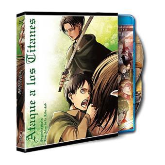 Ataque a los Titanes: Las alas de la Libertad - Blu-Ray,  Ed ilustración conmemorativa de Hajime Isayama, parte 2
