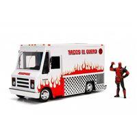 Vehículo de metal Deadpool Tacos El Guero