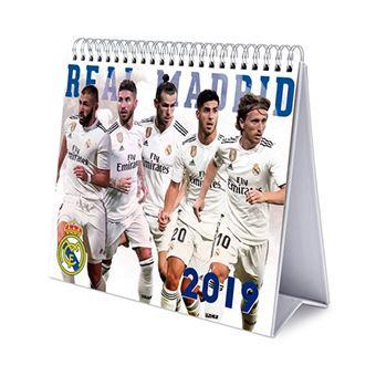 Calendario sobremesa deluxe 2019 Real Madrid