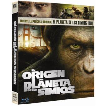 Pack El origen del planeta de los simios + El planeta de los simios - Blu-Ray