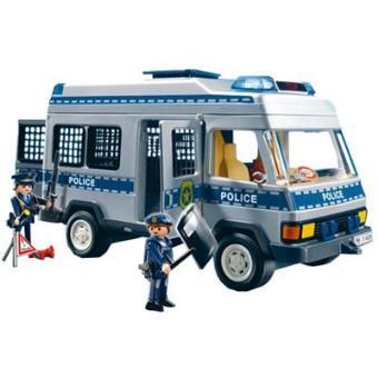 Playmobil City Action Furgón de Policía