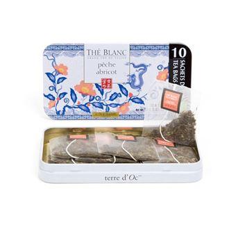 10 bolsitas de Té Blanco chino Melocotón