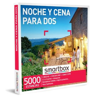 Caja Regalo Smartbox - Noche y cena para dos