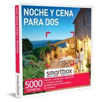 Caja regalo Smartbox Noche y cena para dos