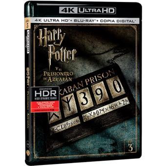 Harry Potter y el prisionero de Azkabán - UHD + Blu-Ray