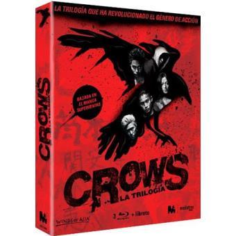Pack Crows - Blu-Ray, saga Completa