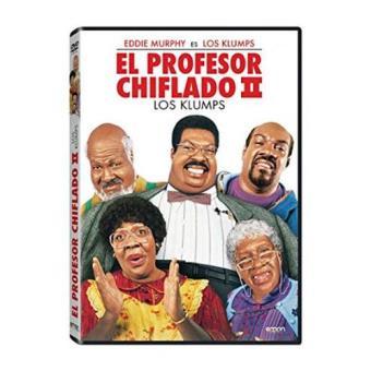 El profesor chiflado 2 - DVD