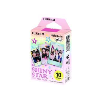 Papel Fujifilm Shiny Star para Instax Mini
