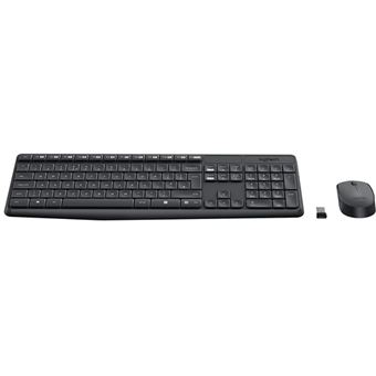 Combo Teclado + Ratón inalámbrico Logitech MK235 USB