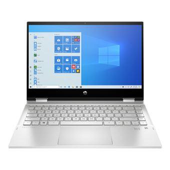 Convertible 2 en 1 HP Pavilion x360 Laptop 14-dw0003ns 14'' Plata