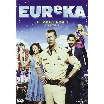 Eureka - Temporada 3 Parte 1 - DVD