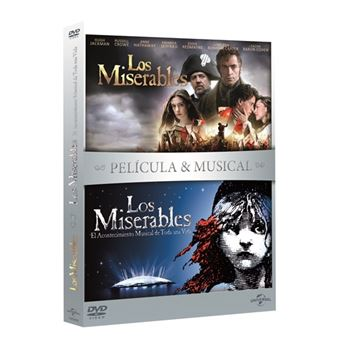 Pack Los Miserables - Películas + Musical - DVD