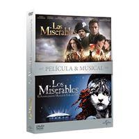 Pack Los Miserables - Películas + Musical - DVD