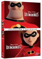Pack Los Increíbles 1 y 2 - DVD