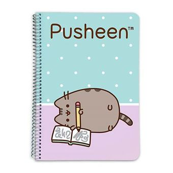 Cuaderno Pusheen The Cat tapa dura A5 pautado