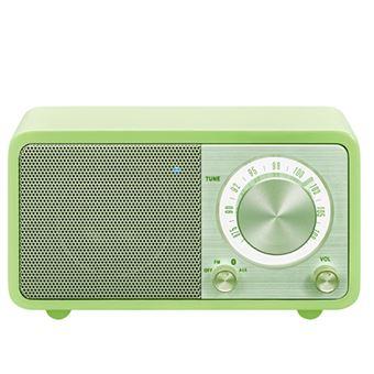 Radio Portátil Bluetooth Sangean SWR7 Verde