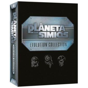 Pack Evolución: El Planeta de los Simios - Blu-Ray