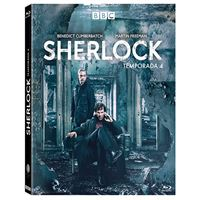 Sherlock  Temporada 4 - Blu-Ray