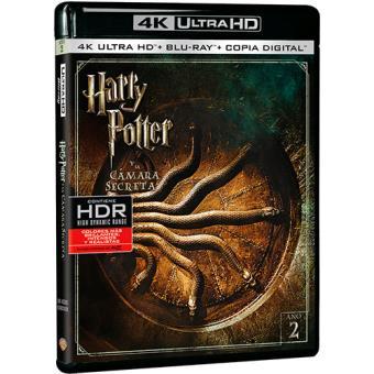 Harry Potter y la cámara secreta - UHD + Blu-Ray