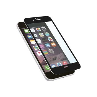 Protector pantalla Muvit Cristal templado  curvo negro para iPhone 8