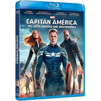 Capitán América 2: El soldado de invierno - Blu Ray