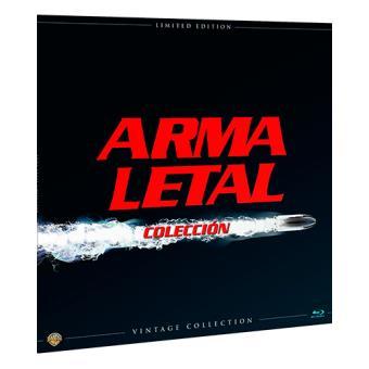 Pack Arma letal Colección - Ed Limitada Vinilo - Blu-Ray