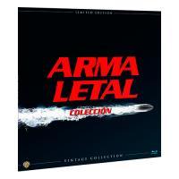 Pack Arma letal Colección  Ed Limitada Vinilo - Blu-Ray
