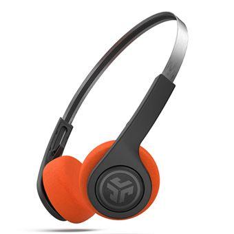 Auriculares Bluetooth JLab Rewind Retro Negro