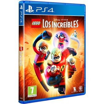 LEGO: Los Increíbles - PS4