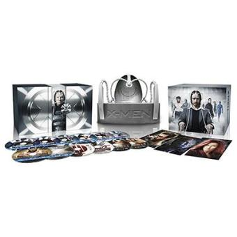 Pack X-Men. La saga completa - Blu-Ray  Ed especial Casco - Exclusivo internet