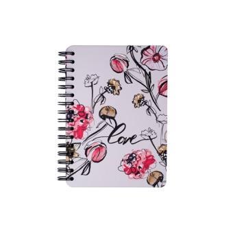 Libreta en espiral Romantic florals