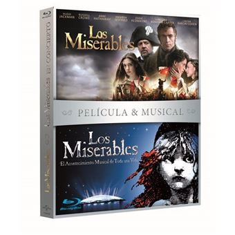 Los Miserables - Película + Musical - Blu-Ray