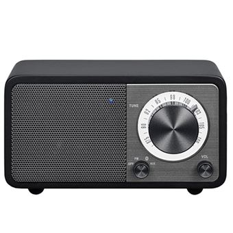 Radio Portátil Bluetooth Sangean SWR7 Negro