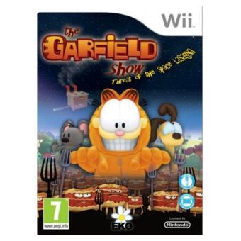 Garfield: La Amenaza de la lasaña del espacio Wii