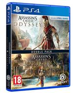 Double Pack: Assassin's Creed Odyssey + Origins - PS4