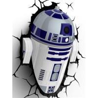 Lámpara decorativa pared 3D Star Wars R2-D2