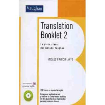 Translatión booklet-2+CD
