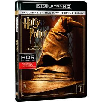 Harry Potter y la piedra filosofal - UHD + Blu-Ray