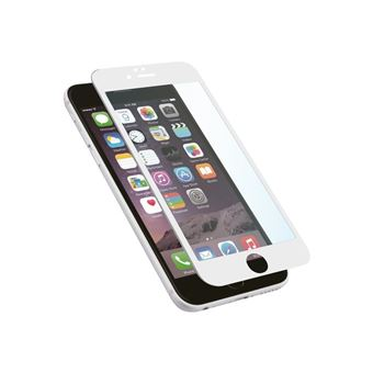 9755c40b938 Protector pantalla Muvit Cristal templado curvo blanco para iPhone 8 ...