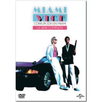 Miami Vice - Temporadas 1 - 5 + piloto - DVD
