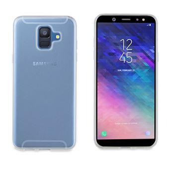 Funda Muvit Carcasa Transparente para Samsung A6 (2018)