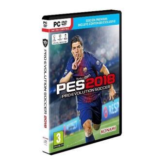 PES 2018 Pro Evolution Soccer Edición Premium PC