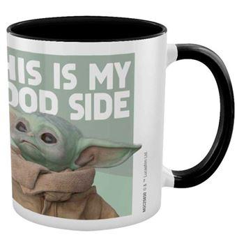 Taza Star Wars The Mandalorian - Baby Yoda This is my good side