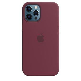 Funda de silicona con MagSafe Apple Ciruela para iPhone 12 Pro Max
