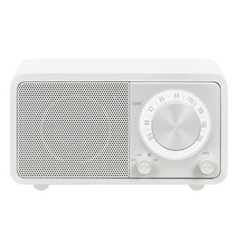 Radio Portátil Bluetooth Sangean SWR7 Blanco